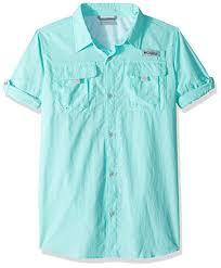 Columbia Fishing Shirt Size Chart Columbia Sportswear Boys Bahama Tm L S Shirt Little Big Kids