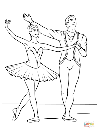 This beautiful ballerina clipart pack had them practicing for the recital! Sleeping Beauty Ballet Coloring Page Free Printable Coloring Pages Coloring Home