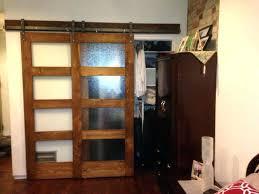bypass barn closet doors quad fold closet doors best glass barn doors images on glass barn
