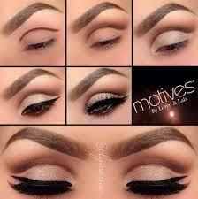 easy eye makeup tutorial pictures
