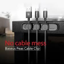 <b>Baseus Peas Cable Clip</b> Magnet Organizer | Shopee Malaysia