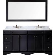 bathroom vanities set. Virtu USA Talisa 72-inch Italian Carrara White Marble Double Bathroom Vanity Set Vanities M