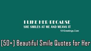 40] Beautiful Smile Quotes for HerGirlfriendWife Best Smile Quotes For Her
