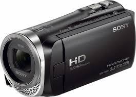 sony handycam. sony - handycam cx455 8gb flash memory camcorder black angle_zoom 2
