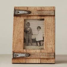 rustic barn door picture frame