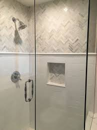 tile designs bathroom showers. love the this shower and gray white tile, chevron marble subway design. | bathroom pinterest tiles, marbles tile designs showers