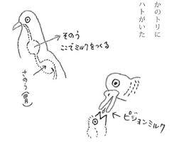 おっぱいで育つ鳥自由研究にぴったりあべ弘士さんの動物クイズ本