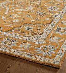 lauren border wool rug 2 x