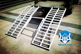 Trailer Ramp Design Hot Item Aluminum Tri Fold Atv Loading Ramp High Quality Utv Trailer Ramp