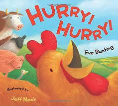 Amazon | Hurry! Hurry! | Bunting, Eve, Mack, Jeff | Birds