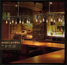 industrial bar lighting. Minimalist Industrial Style Chandelier Lighting For A Variety Of Places Bar