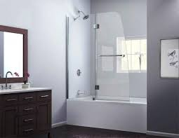 inspiration bath glass door bathtub frameless independent kitchen cost sliding bathroom screen