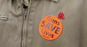 Image result for guns save lives sticker