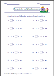 Math Worksheetsion Missing Factors 3rd Grade Furthermore furthermore mutative Property Multiplication Worksheets for 3rd Grade in addition Free Multiplication Worksheets   Mixed Factor Tests also The Multiplying by Facts 11 and 12  Other Factor 1 to 12   A  math furthermore Horizontal Multiplication   Math Worksheets furthermore Multiplication Factorset Math Factsets Division Problems Free as well  likewise Multiplication  1 digit  missing factors  Worksheet   abcteach together with Fact Family Worksheets   Fact Family Worksheets For Practice besides  also Factors  Multiples   Primes  Activity   Worksheet Pack by. on multiplication math worksheets factors