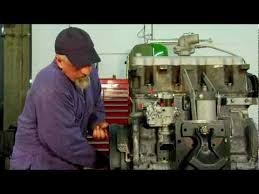 Installing a Diesel Injection Pump & Setting the Timing - YouTube
