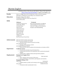 Resume Draft Draft Resume Example Free Resume Examples By Industry Resumegenius 2