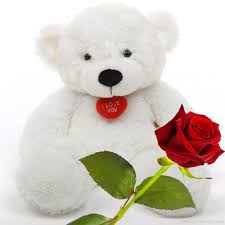 white teddy bears with hearts and roses. Exellent White White Teddy Bear With Rose Throughout Bears Hearts And Roses I