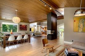 inexpensive mid century modern furniture. Impressive Fireplace Facing Top Glass Table Mid Century Modern Living Rooms Cozy Sofa Blue Rug Combined Appealing Wall Art Cheap Inexpensive Furniture