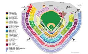 Rare Interactive Seating Chart Turner Field Braves Virtual