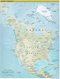 continent of america map. Interesting Continent North America Continent Map  North America Maps With Of