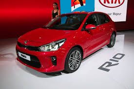 2018 Kia Rio Debuts with New 3-Cylinder Engine, More Mature Style ...