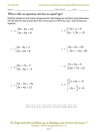 worksheet systems of equations substitution worksheet simple substitution worksheet free worksheets library and ls 7