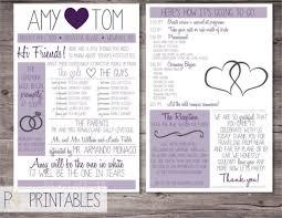Printable Wedding Program Templates 67 Wedding Program Template Free Word Pdf Psd Documents