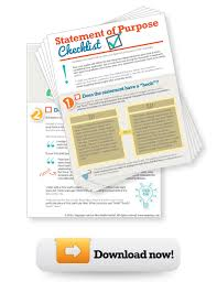 How To Write A Personal Statement Free Printable Checklist