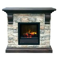 fireplace logs electric s vent free gas with remote control