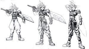 Iconic Final Fantasy Art Of Tetsuya Nomura
