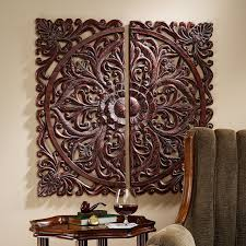 Small Picture Design Toscano 2 Piece Carved Rosette Architectural Wall Dcor Set