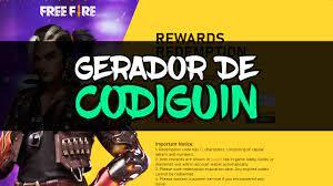 Gerador de Codiguin FF para Copiar - Angelical, Incubadora, Barba e mais!