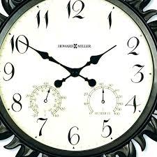 giant clocks oversized outdoor wall clock uk digital tiger radio