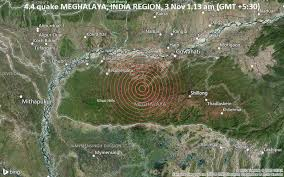 A tsunami warning was issued, then later rescinded. Light Magnitude 4 4 Earthquake 81 Km Southwest Of Guwahati India Volcanodiscovery