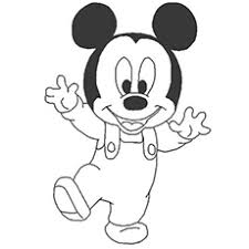 mickey mouse color sheet colouring pages