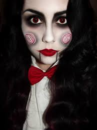 saw special billy the puppet costume makeup tutorialasks