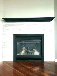 porcelain tile fireplace wood white metallic
