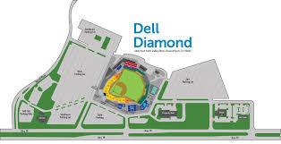 Dell Diamond Stadium Seating Chart Dell Diamond Round Rock Tx