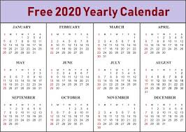 Free Editable Calendar Maker Free Printable Calendar 2020 With Holidays Pdf Word Excel