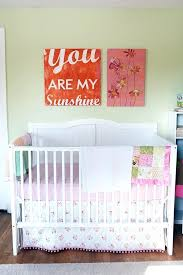 you are my sunshine baby bedding you are my sunshine and flower painting in baby girl