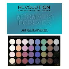 revolution ultra 32 shade eyeshadow palette mermaids forever to view a larger image