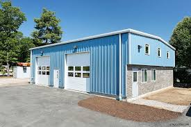 small residential steel building prefab residential garage