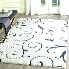 navy blue grey and white area rug cream gray trellis