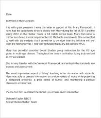 sample letter of recommendation for teaching position letter of recommendation for teaching position under