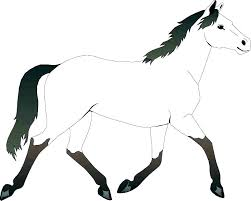 coloring pages coloring pages of horses and ponies horse color big page a mustang large