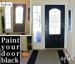 Inside front door colors Beige Wall Black Bring Niyasincklerco Non Fade Front Door Paint With Modern Masters Color Elegant Black