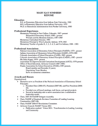 Template An Effective Sample Of Assistant Principal Resume Template