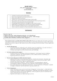 Sample Travel Management Resume Hazel Kwa Office Admin And Facilities Manager 2014 Cv