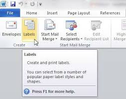 5160 Labels In Word How To Print Address Labels From Word 2010 Solve Your Tech