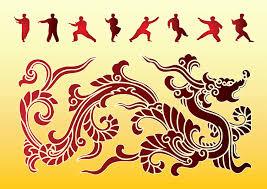Dragon Kung Fu Vector Art Graphics Freevector Com